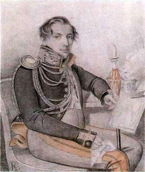 KonovnitsynピーターPetrovich   カールGampelnの肖像
