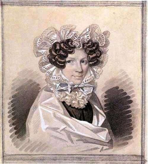 Sophia Kharitonovna Sage   Karl Gampelnの肖像画