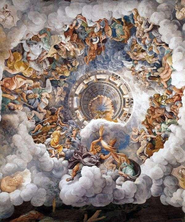 オリンピアの神々   ジュリオ・ロマーノ