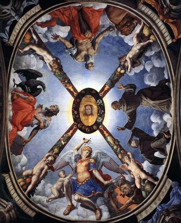 デコレーション、天井画   Agnolo Bronzino